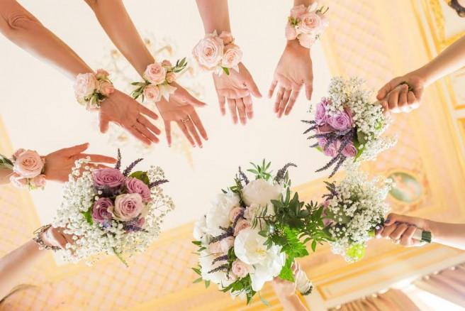 le bouquet de fleur de mariage